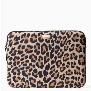 """Kate Spade 13"""" Leopard Laptop Sleeve"""